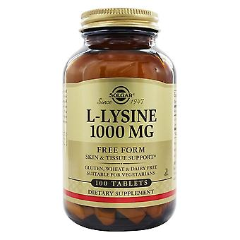 Solgar L-Lysine 1000 Mg Tablets 100