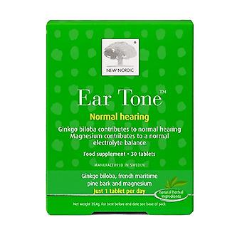 New Nordic Ear Tone Normal Hearing Tablets 30