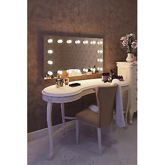 Diamond X Bodenmontage Hollywood Make-up-Spiegel mit dimmbaren LED-k413CW