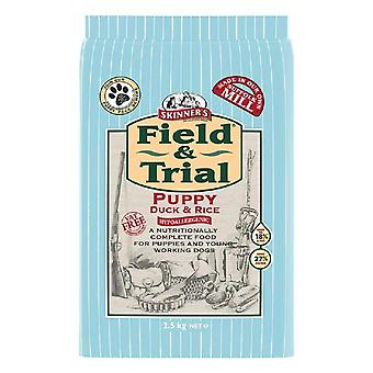 Skinners Field & Trial Duck & Rice Puppy Dog Food