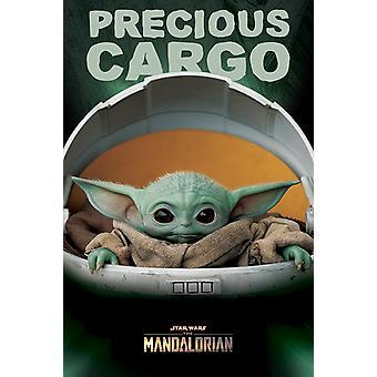 Tähtien sota: Mandalorian Precious Cargo Maxi-Juliste 61 x 91.5 cm