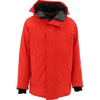 Canada Goose Cg3400m3111 Men's Red Polyester Outerwear Jacket