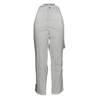 Denim & Co. Women's Jeans Classic Denim Distressed White A304475 #0