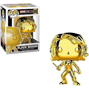 Funko Pop! Black Widow (Chrome) #381 - Verzamelfiguur