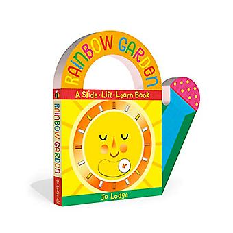 Rainbow Garden - A Slide-Lift-Learn Book by Jo Lodge - 9780593179420 B