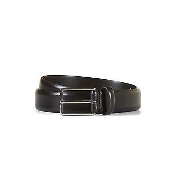 Leather belt allen black