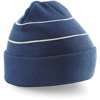 Beechfield Enhanced-viz Hi-Vis Knitted Winter Hat