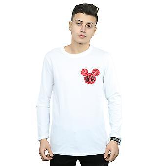 Disney Men & apos; s Musse Pigg Symbol Långärmad T-shirt
