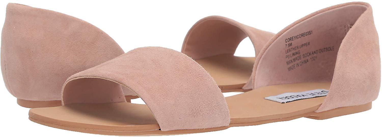 Steve Madden Womens CORE03S1 Fabric Open Toe Casual Slide Sandals