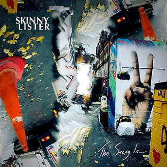 Skinny Lister - The Story Is... [CD] USA import
