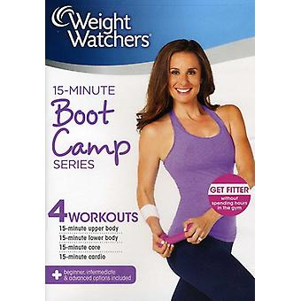 15 minuters Boot Camp serie [DVD] USA import