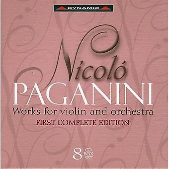 N. Paganini - Paganini: Works for Violin and Orchestra [CD] USA import