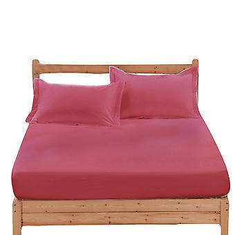 YANGFAN Baumwolle Non-Slip Einfarbige weiche Bettlaken