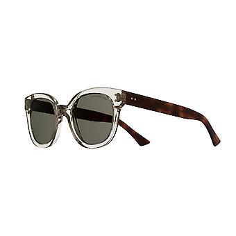 Cutler and Gross 1298 06 Light Brown/Green Sunglasses