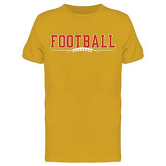 American Football Sport Design Tee Men's -Image by Shutterstock