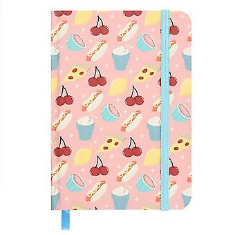 Something Different Fruit Print A6 Notebook