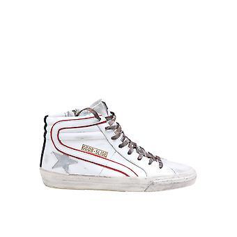 Goldene Gans Gmf001580185 Herren's weißes Leder Hi Top Sneakers