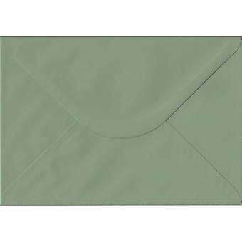 Vintage Pink Gummed C6/A6 Gekleurde groene enveloppen. 135gsm GF Smith Colorplan Papier. 114mm x 162mm. Banker Style Envelop.