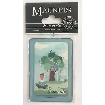 Stamperia Mi primera Ilusiàn Nio 8x5.5cm Magnete