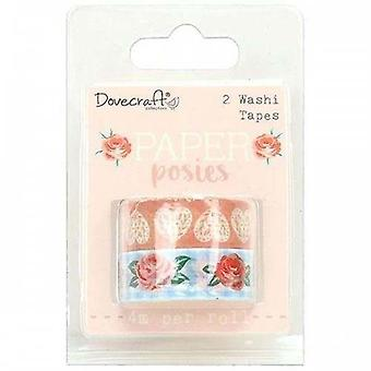 Dovecraft Paper Posies Washi Tapes