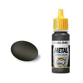 Ammo by Mig Acrylic Paint - A.MIG-0045 Gun Metal (17ml)