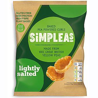 Simpleas Lightly Salted Pea Curls