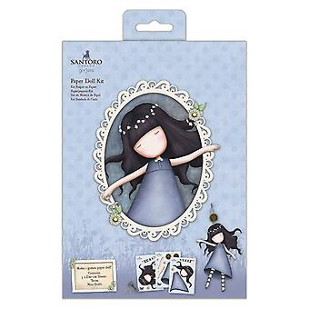 Gorjuss Papieren Doll Kit Tenen