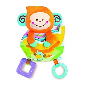 Baby Toys B Kids Take Along Teether Activity Book Games Kids 004659