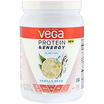 Vega, Protein & Energy, Vanilla Bean, 1.1 lbs (510 g)