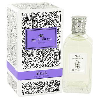 Etro musk eau de parfum spray por etro 552127 100 ml