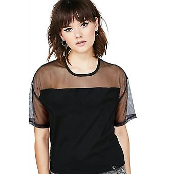 Fearless Illustration Panel Boxy Top