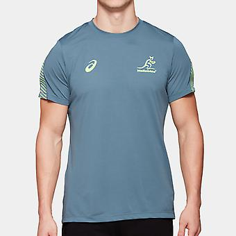 Asics Australië Wallabies Spelers Training T-Shirt