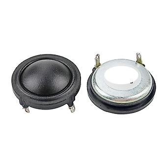 1.5-inch 37mm Dome Silk Tweeter Neodymium 25-core Sound Absorbing Cotton 4-ohm 15w Treble Speaker Clear Sound Sweet 2pcs