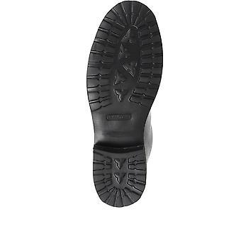 Jones Bootmaker Womens Klara Goodyear Welted Leather Hiker Boots