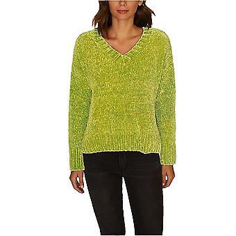 Sanctuary | Chenille V-Neck Pullover Sweater