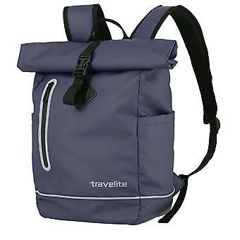 Travelite Basics Roll-Up Backpack Plane 48 cm, Azul