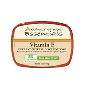 Clearly Natural Glycerine Bar Soaps, Vitamin E 3 bars