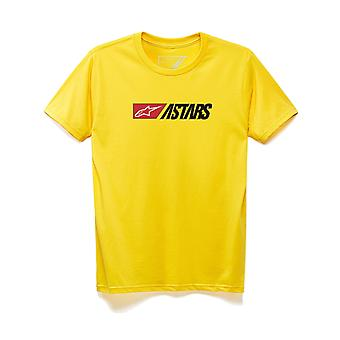 Alpinestars Indulgent Short Sleeve T-Shirt in Yellow
