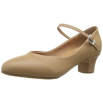 Bloch Women's Shoes Broadway Lo Leather Closed Toe Ankle Strap Classic Pumps