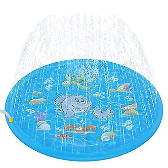 Kinderen Water Spray Speelgoed, Zomer Water Sprinkler Mat Outdoor Gazon Game Water
