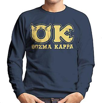 Pixar Monsters Inc University Oozma Kappa Logo Men's Moletom
