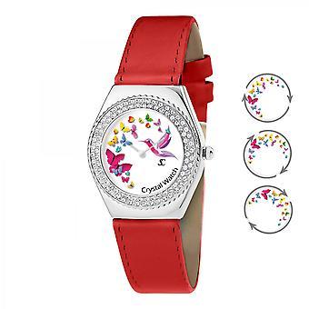 Reloj de mujer So Charm MF316-PAPILLON-COLIBRI-ROUGE