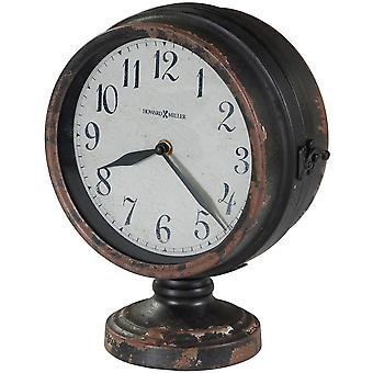 Howard Miller Cramden Mantel Clock - Rusted Black