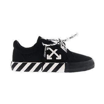 OFF WHITE Low Vulcanized Canvas Black Wh Black OMIA085R21FAB0011001 shoe