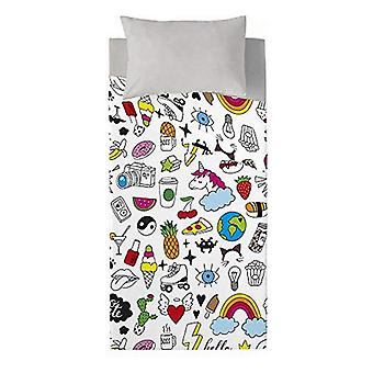 Top sheet Costura Cool Icons (Bed 90)