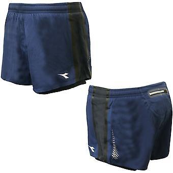 Diadora Womens 5/8 Shorts Gym Running Pants Navy 170524 60024 A9E