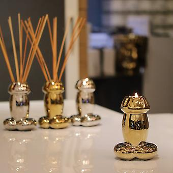 Gold Drip Candle