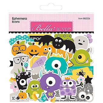 Bella BLVD Monsters & Friends Ephemera Icons