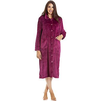 Camille LX9001 BUTTON BURG HOUSECOAT