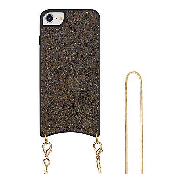 H-basics phone chain for Apple iPhone 7 / 7S / 8 necklace case cover